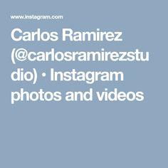 Carlos Ramirez (@carlosramirezstudio) • Instagram photos and videos