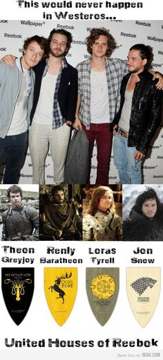 Friendships, impossible in Westeros #GameOfThrones