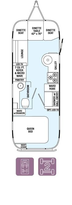 Flying Cloud Floor Plans & Specifications - Airstream