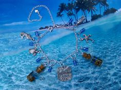 Sterling Silver Anklet Real Sand Real Tiny Pebbles Dreaming of the Sea Charm Beach Jewelry Sea Jewelry FREE UK POSTAGE by artyResin on Etsy