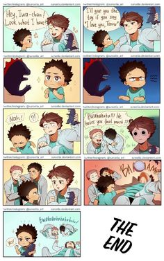 BABY IWA-CHAN!!!! So cute and smart~