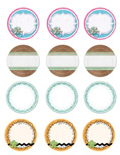 Cute Peach Apricot Canning Labels Canning Jar Labels - Mason jar label template
