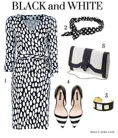 How to Wear: Black & White