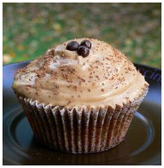 Cappuccino muffins, These muffins are simply excellent with their good taste of coffee and chocolate. Brunch, Cupcakes, Homemade, Chocolate, Cooking, Breakfast, Recipes, Coffee, Diy