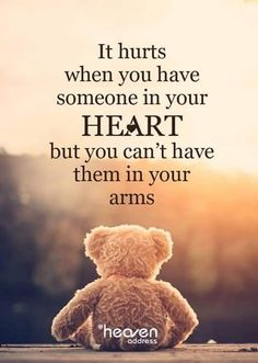 It hurts when you have someone in your heart, but you can't have them in your arms. Morning Inspirational Quotes, Inspiring Quotes About Life, Good Morning Quotes, Hug Quotes, Heart Quotes, Life Quotes, Qoutes, Missing You Quotes For Him, Thinking Of You Quotes