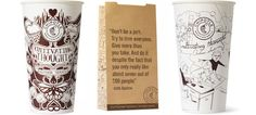 Lunchtime Reading: Fast Food Chain Prints Essays From Famous Writers On Its Cups - DesignTAXI.com