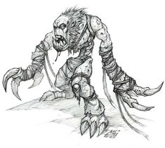 Ghoul - Pictures & Characters Art - World of Warcraft: Wrath of the Lich King