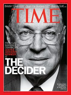 Justice Anthony Kennedy, a Catholic who has long been seen as the possible swing vote on gay marriage