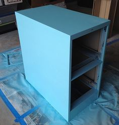 Instructions on how to paint a filing cabinet - I've got the filing cabinet now just need to pick a color!  aileenbarker, via Flickr