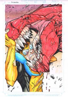 Babisu Kourtis Invincible Comic Art