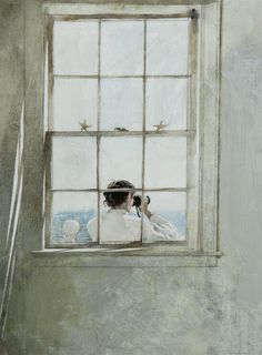 Andrew Wyeth(1917ー2009)「Star Fish」(1986)
