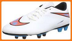 a6acb9b54cb9 Men s Nike Hypervenom Phade FG Soccer Cleat White Total Crimson Blue Lagoon  Size 8.5 M US