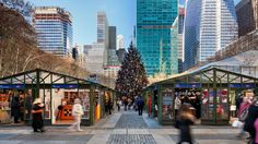 NYC  2017 HOLIDAY MARKETS ---Shop locally at the Union Square Holiday Market, Bryant Park and other seasonal options.