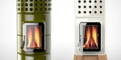 Stack Stoves. Great for that micro house I'll have one day.