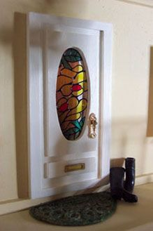 Ok @pam pickett we have to make stained glass for our fairy doors!