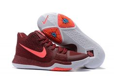 lowest price be5a4 10b1d ... coupon for nike kyrie 3 team red total crimson white pink blast for  sale basketball shoes
