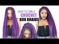 DIY Box Braids Crochet Braids Cheat Method - https://www.avon.com ...