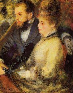 Pierre Auguste Renoir - In the Loge
