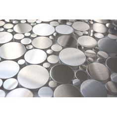 Random Circles Stainless Steel Tile Kitchen backsplash?