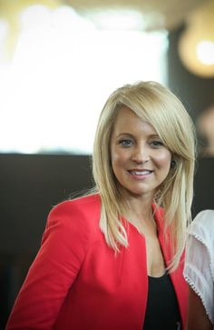 Our Host for the day, Carrie Bickmore from Channel Ten's 'The Project'