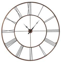 Homemakers Furniture: Extra Large Wall Clock: CBK LTD., LLC: Accessories/Accents: Wall Art & Clocks