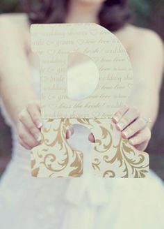 DIY idea for wedding crafts or wall art-Amber Malia Bridal Shoot