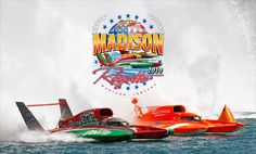 Madison, Indiana-Its a wonderful little town in Indiana. The hometown of my husband.  They host the Madison Regatta  every year on the first weekend in July, on the Ohio River.  The family friendly event is an amazing place to be.  They have the fastest boats come and race for the Lucas Oil Championship.  Think NASCAR on  the water.