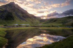 Skogarfoss Sunset Reflection ... by Yonatan Souid on 500px