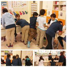 """2-C sınıfı öğrencileri  """"Kim Olduğumuz"""" teması kapsamında """"Sağlıklı Yaşam"""" konusunun son değerlendirmesini 4-C sınıfı öğrencilerine sundular ve sağlıklı yaşam konusunda bilgi verdiler. Sağlıklı yaşamla ilgili anket uygulayıp mini drama gösterisi yaptılar."""