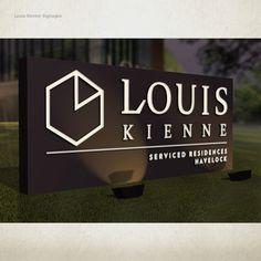 LOUIS KIENNE HOTEL – WAYFINDING SYSTEM – Kaze Lim Hotel Signage, Concept, Inspiration, Biblical Inspiration, Inhalation, Motivation