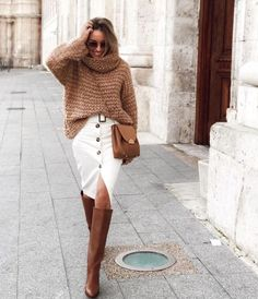 We Love This Easy Business-Casual Look (Le Fashion) - myeasyidea sites Fall Outfits, Casual Outfits, Cute Outfits, Street Style Looks, Street Style Women, Plus Size Blog, Look Kylie Jenner, Paris Mode, Instagram Outfits
