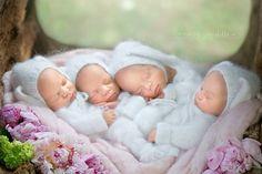 【SPUR】話題沸騰中!かわいすぎる四つ子ベビーの写真に悶絶必至 | セレブニュース