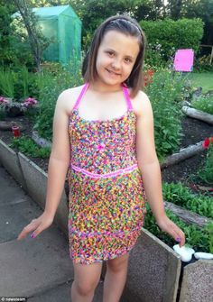 just a dress i guess with the little style of loom band