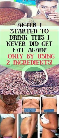 After I Started To Drink This I Never Did Get Fat Again, I Only By Using 2 Ingredients