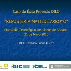 "Mercadillo Tecnológico Los Llanos de Aridane 21 de Mayo 2010 CIDEC : Yolanda Guerra Guerra Caso de Éxito Proyecto DILO ""REPOSTERIA MATILDE ARROYO""   Índic. http://slidehot.com/resources/caso-de-exito-proyecto-dilo-mercadillo-tecnologico-de-los-llanos-de-aridane.15697/"