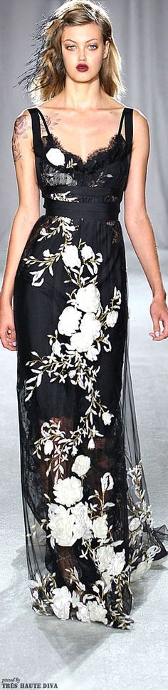 house of beccaria 2014 | Marchesa | Spring/Summer 2014 | The House of Beccaria