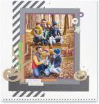 Through the Year #ctmh #closetomyheart #throughtheyear #calendar #kit #scrapbooking #scrapbook #memorykeeping #keepsake #gift #diy #family #Chrismas #present #photos #gold #glitter #diecut #gems #stars #hearts #halloween #pumpkin #jackolantern #fall #autumn #happy #moments