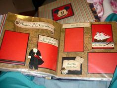 Pirates of the Carribean Scrapbook Page