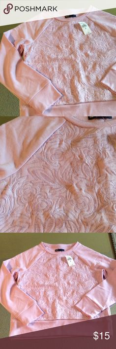 Lavender floral embroidered sweatshirt Really cute modern floral embroidered front on a sweatshirt long sleeve top, perfect for fall, NWT Gap Kids Shirts & Tops Sweatshirts & Hoodies