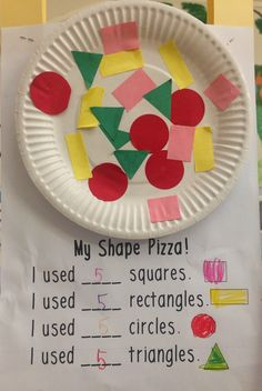 pizza shapes and learning.