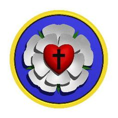 Lutheran Rose Symbol | martin luther s seal the luther rose also known as the luther seal is ...