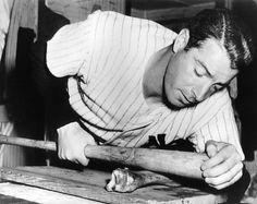 <b>joe</b> <b>dimaggio</b> boning his <b>bat</b> this was the practice of grinding your <b>bat</b> ...