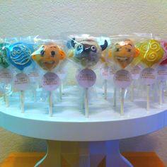 Avatar cake pops