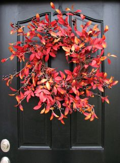 Etsy Fall Wreaths for Front Door