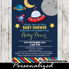 1000 images about space themed party printables on for Space themed stationery
