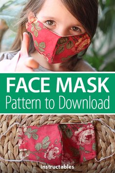 Check out this pattern for a face mask. Sewing Tutorials, Sewing Ideas, Sewing Projects, Sewing Patterns, Diy Projects, Cotton Lace, Cotton Fabric, Wood Turning Projects, Lets Do It