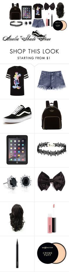 """""""Amelia""""Shade""""Stone meeting outfit"""" by bethany3546 on Polyvore featuring Vans, Kate Spade, Griffin, Blue Nile, MAC Cosmetics and Max Factor"""