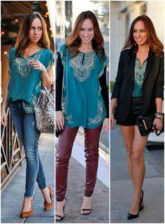 Sydne Style - Staples Series: Embellished Tunic