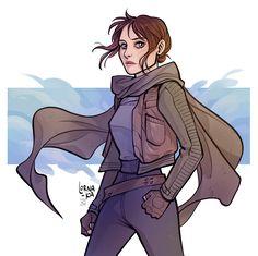 Jyn Erso by lorna-ka.deviantart.com on @DeviantArt