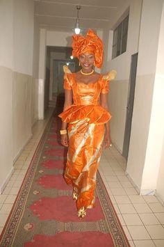 Coumba Gawlo Seck, modèle de l'élégance sénégalaise